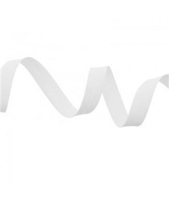 Biais uni 20 mm Blanc