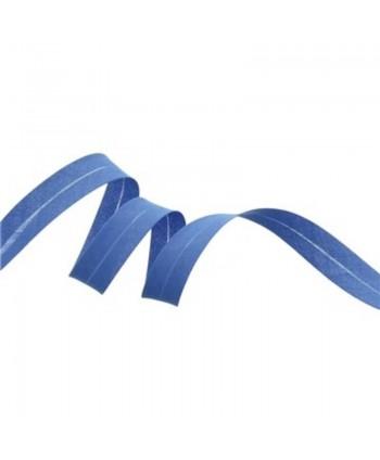 Biais uni 20 mm Bleu