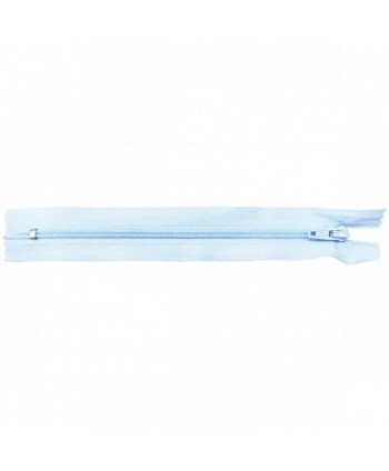 Fermeture nylon non-séparable 30 cm Bleu clair