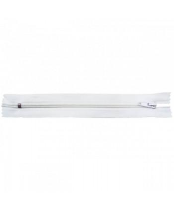 Fermeture nylon non-séparable 40 cm Blanc