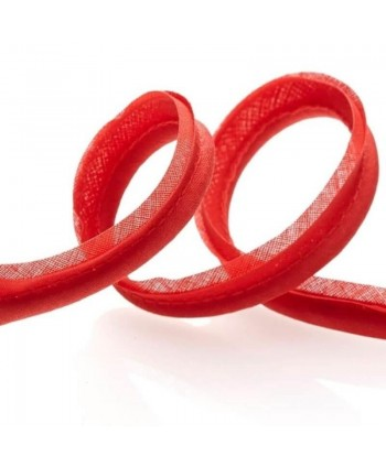 Passepoil tout textile 15mm Rouge