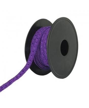 Galon fantaisie 10 mm Violet