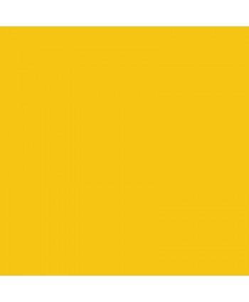 Popeline de coton unie Jaune soleil