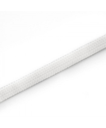 Ruban élastique 6,5 mm blanc