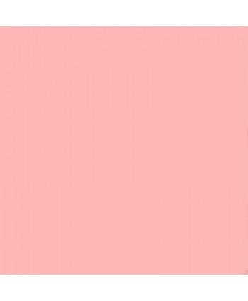 Popeline de coton unie Rose pâle