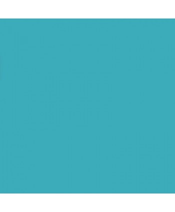 Popeline de coton unie Turquoise