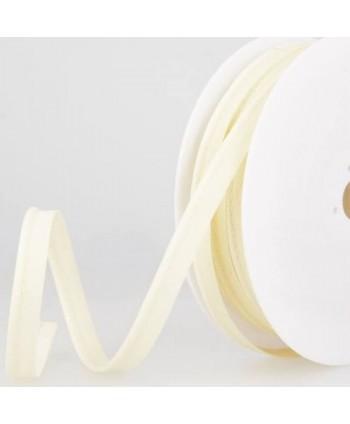 Passepoil tout textile 10 mm Écru