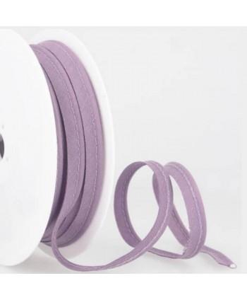 Passepoil tout textile 10 mm Parme