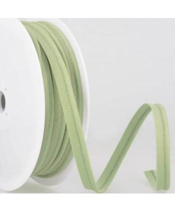 Passepoil tout textile 10 mm Vert amande
