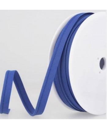 Passepoil tout textile 10 mm Bleu électrique