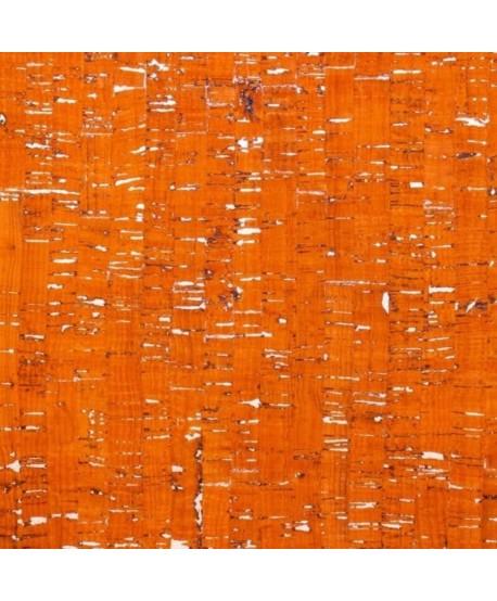 Liège luxe MB Cork Coupon 50*65cm Orange argenté