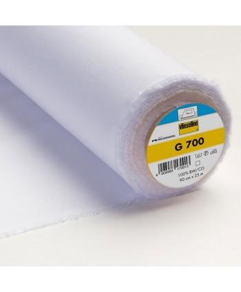 Entoilage tissé Vlieseline G700 thermo Blanc