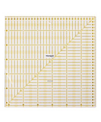Règle universelle Omnigrid 31,5 cm X 31,5 cm Prym  2