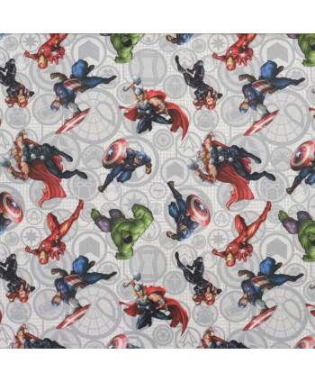 Tissu coton Marvel Avengers