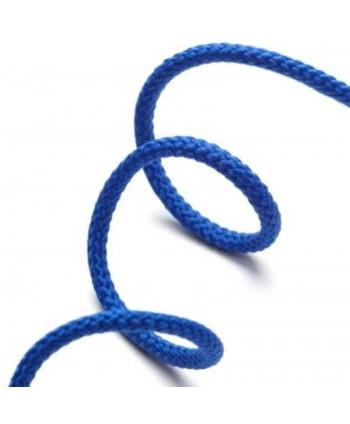 Cordon anorak 4 mm Bleu roi