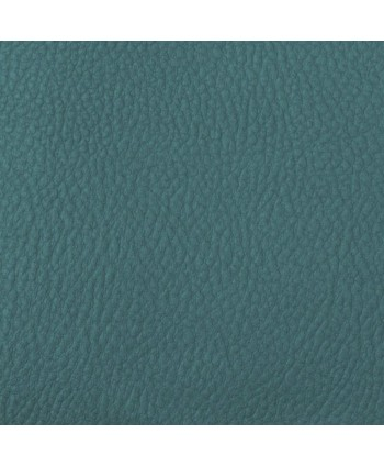 Simili cuir Cannes bleu glacier