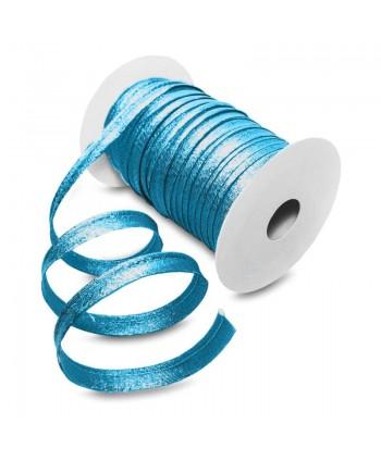 Passepoil métallisé Turquoise foncé 10mm