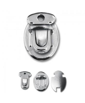 Boucle cartable 25 mm Argent