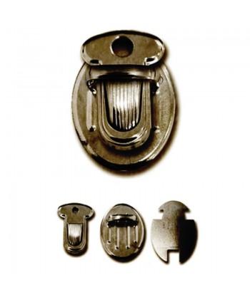 Boucle cartable 25 mm Bronze