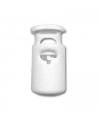 Arrêt cordon plastique Blanc