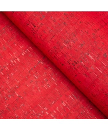 Liège luxe MB Cork Coupon Spécial Sangle 10*140 cm Rouge vif 2