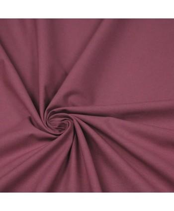 Cretonne de coton Unie - Bois de rose