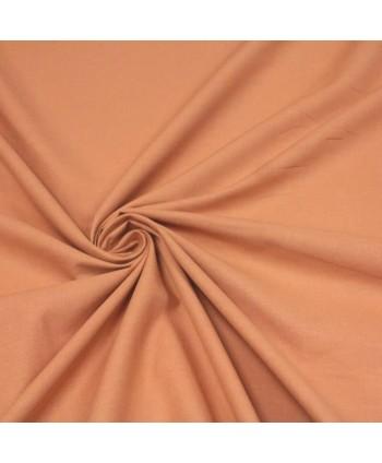 Cretonne de coton Unie - Camel