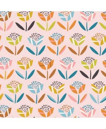 Tissu Dashwood Hanging around - Fleurs