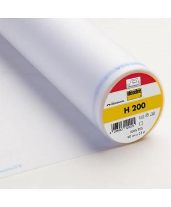 Entoilage Vlieseline H200 léger thermo Blanc