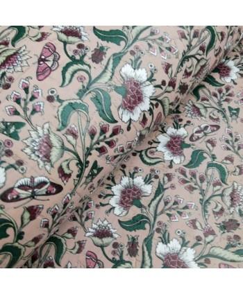 Liège luxe Cork Coupon 20*30 cm Rustique Rose - Fleurs blanches 1