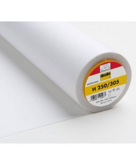 Entoilage Vlieseline H250 moyen thermo Blanc