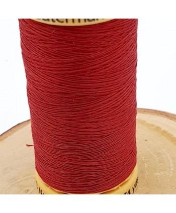 Fil à coudre 100% coton Gütermann 250m bordeaux