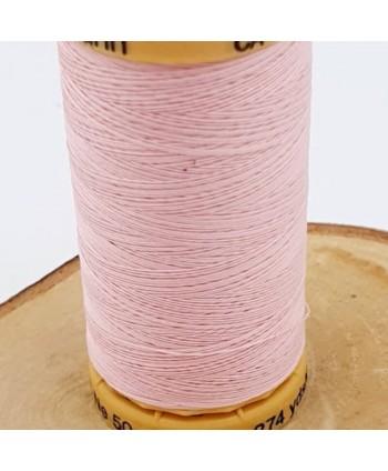 Fil à coudre 100% coton Gütermann 250m Rose clair