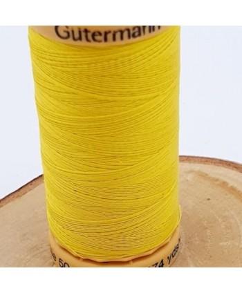 Fil à coudre 100% coton Gütermann 250m jaune