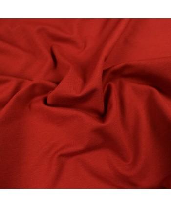 Jersey uni bio GOTS - Rouge