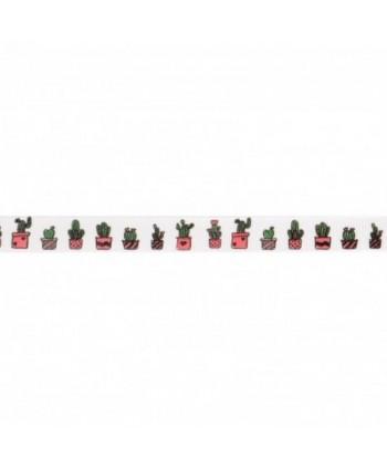 Ruban Fantaisie Cactus 10 mm