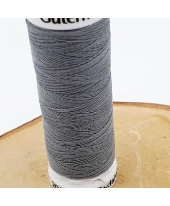 Fil à coudre 100% polyester Gütermann 200m Gris