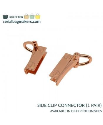Connecteurs Clips latéraux Or rose