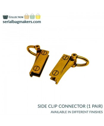 Connecteurs Clips latéraux Or