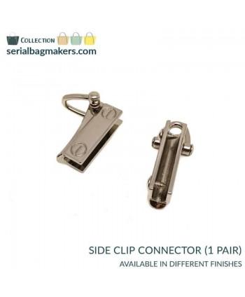 Connecteurs Clips latéraux Argent