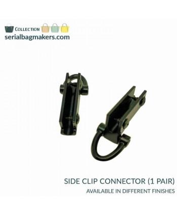 Connecteurs Clips latéraux Noir