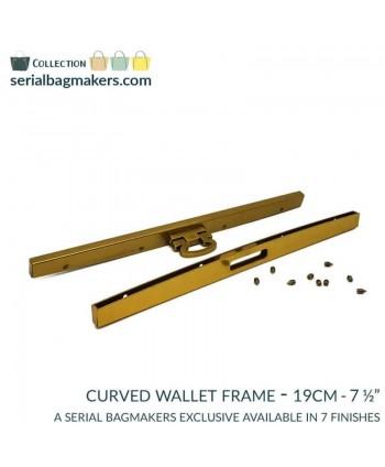Barres de portefeuille 19 cm Or