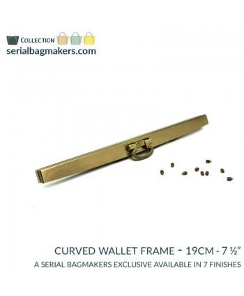 Barres de portefeuille 19 cm Laiton brossé