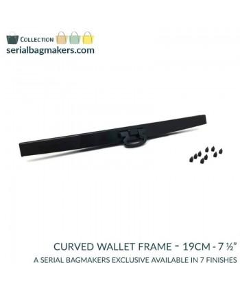 Barres de portefeuille 19 cm Noir