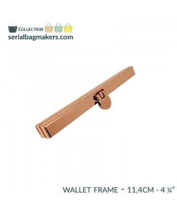 Barres de portefeuille 11,4 cm Or rose
