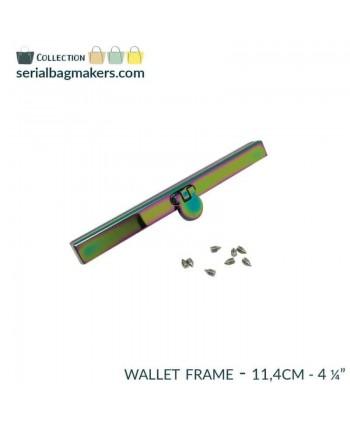 Barres de portefeuille 11,4 cm Arc-en-ciel