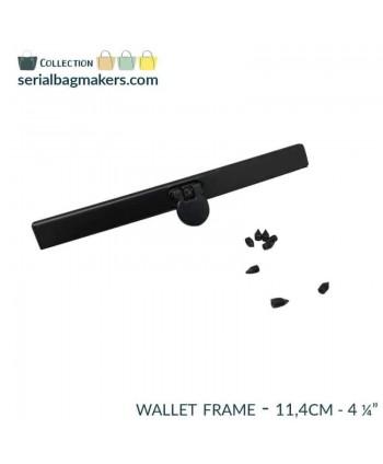 Barres de portefeuille 11,4 cm Noir