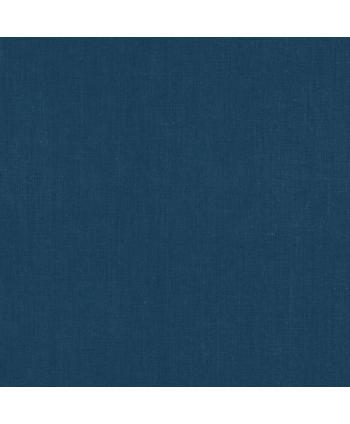 Cretonne de coton Unie - Indigo