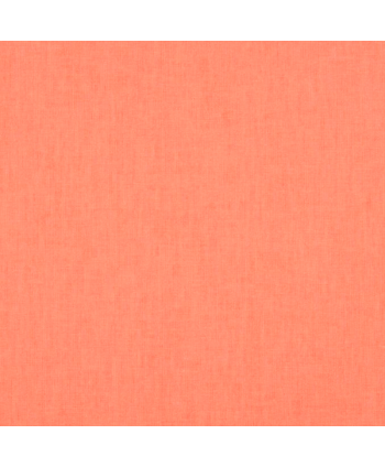 Cretonne de coton Unie - Papaye
