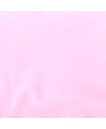 Tissu Coton enduit uni Rose